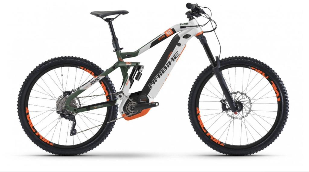 Electric Mountain Bike hire Sierra Nevada