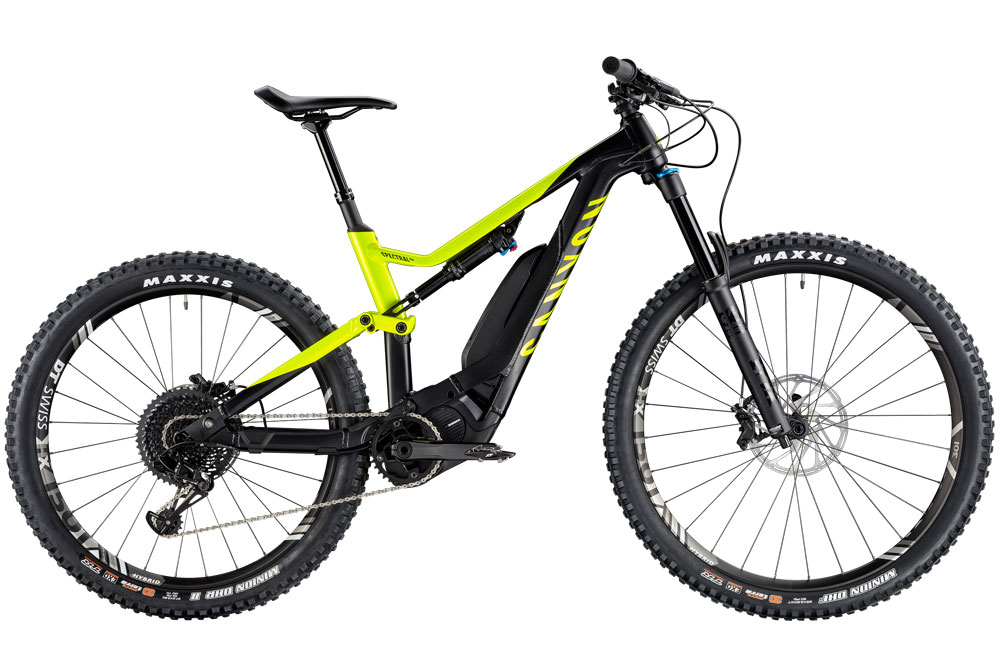 Electric Mountain Bike hire Malaga